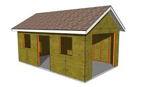 free diy garage plans with detailed drawings and instructions double garage
