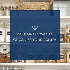 4 ways to organize your pantry u2013 emily ley