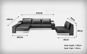 assise canapé canapé d angle en cuir italien avec une assise amovible design et