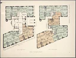 new york apartment floor plans 10 elaborate floor plans from pre wwi nyc apartments apartments