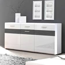 Wohnzimmerm El Creme Hochglanz Weisses Sideboard In Hochglanz Ideen Design