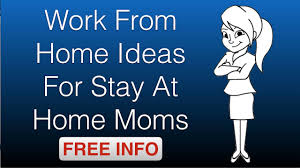 work from home ideas for stay at home