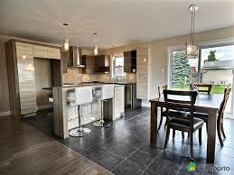 cuisine ouverte sur salle à manger superior cuisine et salon aire ouverte 4 maison neuve vendu