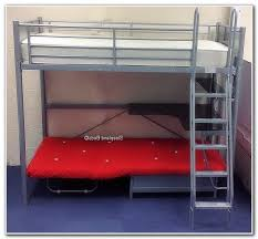 High Sleeper With Desk And Futon Metal High Sleeper With Futon Roselawnlutheran