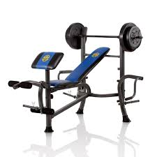 opp weight bench u0026 80 lb weight set