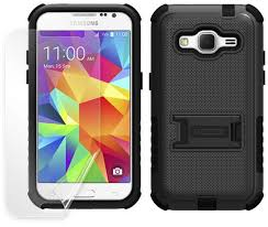 Samsung Galaxy Rugged Rugged Tri Shield Case Stand For Samsung Galaxy Core Prime G360