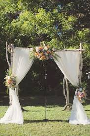 wedding backdrop arch country wedding ceremony backdrop arch idea http www