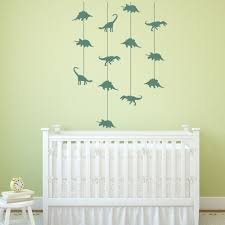 compare prices on dino wall decal online shopping buy low price dinosaur cot mobile wall stickers jurassic dino wall decal baby nursery decor new arrivals wallpaper high