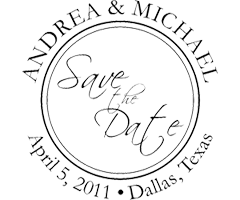 Save The Date Stamps Custom Wedding Invitation Stamps Customstamps Com