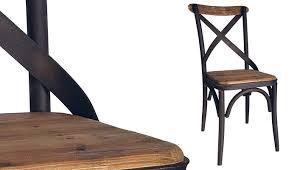 chaise en pin chaise bistrot 89 cadeiras e poltronas salons