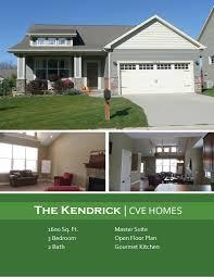 True Homes Floor Plans Home Floor Plans Ranch The Kendrick