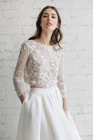 lace top wedding dress lace wedding top bridal separates bridal lace top 3d
