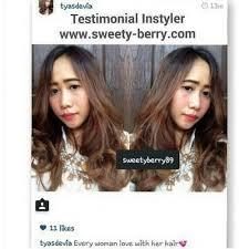 Catok Uap instyler sweety berry jual catok rambut surabaya jual