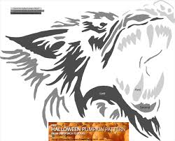 cartoon pumpkin stencil werewolf pumpkin carving ideas best pumpkin 2017