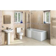 orchard wharfe bathroom suite with left handed p shaped shower free delivery oakley bathroom suite with evesham 1700 x 850 shower bath lh