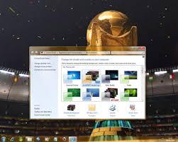 plus de bureau windows 7 thème ea sports coupe du monde de la fifa pour windows 7 windows