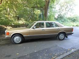 mercedes s class 1986 used 1986 mercedes s class 420 sel for sale in lancashire