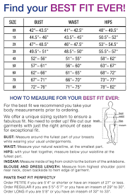 plus size clothing size chart find your perfect fit