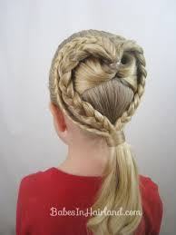 lovely locks heart braid hair tutorial for valentine u0027s day