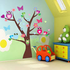 compare prices on decor vinyl butterflies online shopping buy low owls flower tree butterfly wall sticker mural vinyl decals kid nursery decor luz owl in tree