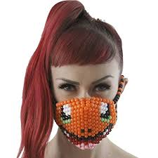 Kandi Mask Amazon Com Charmander Pokemon Kandi Mask Surgical By Kandi Gear