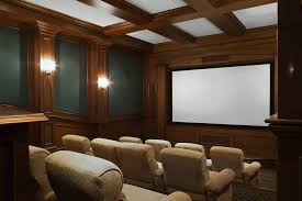 Home Theatre Design Los Angeles Home Theater Room Great Use For That Bonus Room Above The Garage
