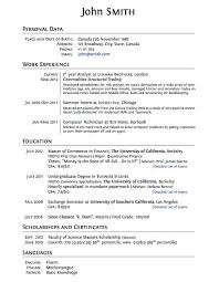 College Admissions Resume Template For Word best 10 college application resume template for exle free word