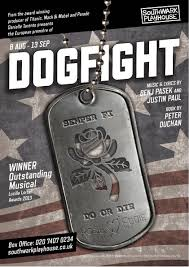 dogfight the southwark playhouse the gizzle review