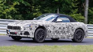 2018 bmw z4 seen at the nurburgring riding high