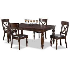 kingston dining room table kingston 5 piece dining set kg 5pc intercon kg 4290 chr 4 afw