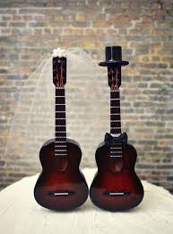guitar cake topper wedding cake topper guitar idea in 2017 wedding