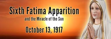 sixth apparition lady october 13 1917 anf