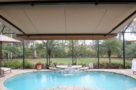 Installing Retractable Awning Retractable Awnings Installed In Sarasota