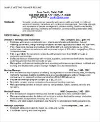 Resume Event Planning Event Planner Resume Sample Event Planner Resume 33 Executive
