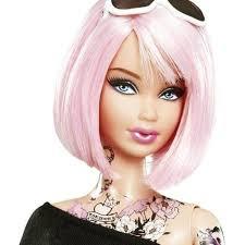 25 barbie tattoo ideas barbie house