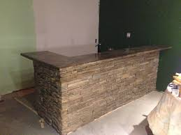 wet bar countertop ideas amazing best wet bar with concrete