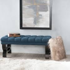 Upholstered Entryway Bench Varick Gallery Beene Upholstered Bench U0026 Reviews Wayfair