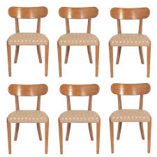 Set Of Six Dining Chairs Designed By Edward Wormley For Drexel For - Designed chairs