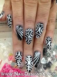 79 best black u0026 white nail design art images on pinterest nail