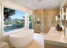 tranquil bathroom ideas low maintenance bathroom design styles