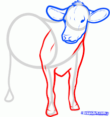 how to draw cattle step by step farm animals animals free