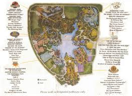 Universal Islands Of Adventure Map Newsplusnotes From The Vault Early Islands Of Adventure Map