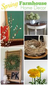 spring decorating farmhouse style house of hawthornes