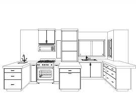 kitchen design sketch far fetched commercial kitchen sketchup 25