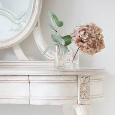 Shabby Chic Vanity Table by Delphine French Shabby Chic Dressing Table White Dressing Tables