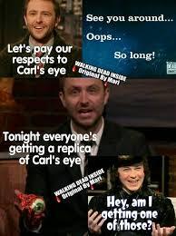 Carl Walking Dead Meme - the walking dead memes carl grimes chandler riggs chris