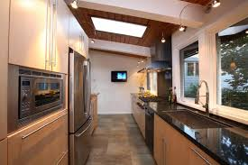small kitchen idea with classic galley idea turn your small