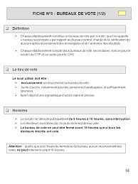 les bureaux de vote ferme a quel heure guide elections du 7 novembre 2006 comité technique paritaire