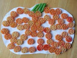 pasta pumpkin craft halloween pinterest craft fall