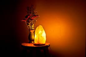 Salt Lamp Energetic Lights Himalayan Salt Lamps As A Unique Decor Piece